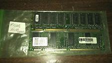 128MB (2X64MB) of Vintage PC133 SDRAM Memory Modules