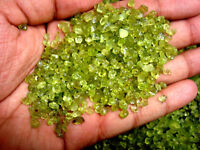 Natural Green Peridot Loose Gemstone Stone Rough Specimen Lot -
