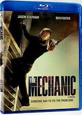 NEW BLU RAY  - THE MECHANIC - Jason Statham, Ben Foster, Donald Sutherland