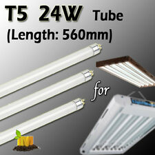 4pcs of  24w T5 Fluorescent Grow Light (HO) lamp Tube 2700K Flower/Bloom Tube