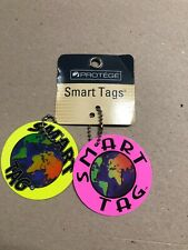 Protege Luggage Bag Smart Tags Globe Earth