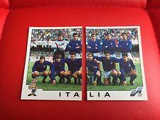 PANINI EURO 92 1992 CALCIO IN FIGURINE-Italia Italia Team - 237 238-NUOVO