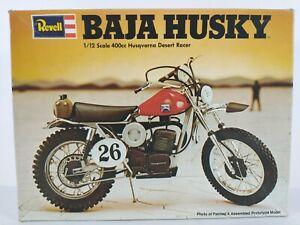 Baja Husky 400cc Husqvarna Desert Racer Revell 1:12 Model Kit  H-1511 Parts Lot