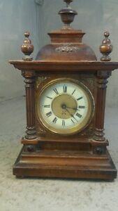 Antique Mantel Clock , Alarm