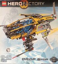 Lego Hero Factory Drop Ship 9-16 7160 New Sealed