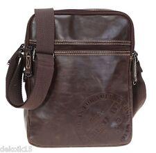 Herren Messenger Bag Schultertaschen Umhängetasche Geschenk Herrentasche 50752