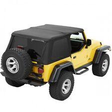 Jeep Wrangler TJ Trektop NX Verdeck Top getönte Scheiben schwarz Diamond 96-06