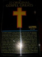 22 Original Gospel Greats Cassette