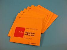 Kodak Polycontrast 125X125mm PC1-PC4 Acetate B&W Printing Filters  Cat. 143 0149