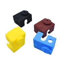 3D Printer Silicone Sock Heater Block Cover V6 Hotend Heater Protect Hot #ur