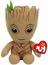 "TY BEANIE -GROOT MARVEL  6"" plush Soft Toy 41215"