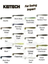 Keitech Fat Swing Impact Swimbait - Choose Size / Choose Color