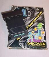 VINTAGE 1982 ATARI 2600 VIDEO GAME M NETWORK DARK CAVERN IN ORIGINAL BOX
