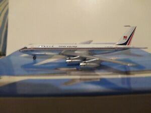 "****AEROCLASSICS 1:400 SCALE CHINA AIRLINES B707-351 COMBI ""1970'S LIVERY B-1828"