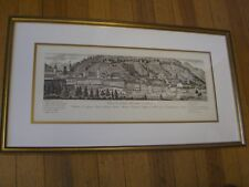 Antique Swiss City View of Locarno from the Levant side  Print c.1900
