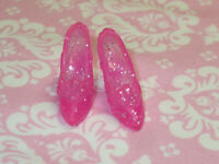 Disney MATTEL Barbie Doll REPLACEMENT PINK SHOES PRINCESS AURORA Sleeping Beauty