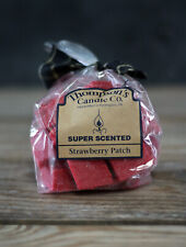Wax Melts Strawberry Patch Thompson's Candle Co Super Scented Crumbles 6 oz