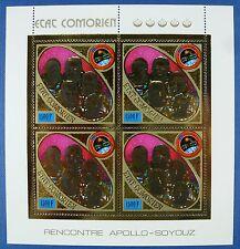 Spaziale Space 1975 Comore Comores apollo soyuz 255 a piccoli archi mnh/722