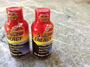 5-hour Energy Pomegranate x2 SEALED PACKAGES Exp. 10/15