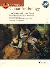 Baroque Guitar Anthology Volume 1 Sheet Music 25 Guitar and Lute Piece 049018421