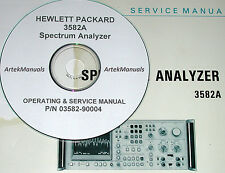 HP  3582A SERVICE AND OPERATION MANUAL