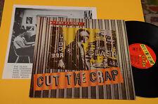 THE CLASH LP CUT THE CRAP ORIG GRECIA 1985 EX ! CON INSERTO !! RARO