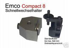 CAMBIO Veloce Supporto Acciaio Nuovo F. EMCO Compact 5