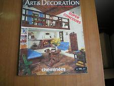 rivista ART & DECORATION  - JANVIER-FEVRIER 1976 - N°190