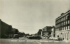 A Panoramic View of West First Street, Hutchinson KS