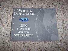 2009 Ford F250 Super Duty Electrical Wiring Diagram Manual 6.4L Diesel XL XLT