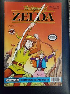 The Legend of Zelda #1 1st Print Price Cover Nintendo Valiant 1st App Link comic