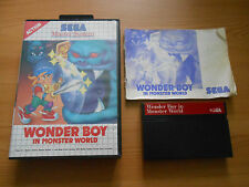 Wonder Boy in Monster World for Sega Master System