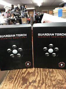 2-Guardian Torch Security 2200mAh LED Spotlight