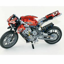 LEGO COMPATIBLE 8051 TECHNIC Motorcycle Riding Cycle Motorbike NEW Sealed RARE