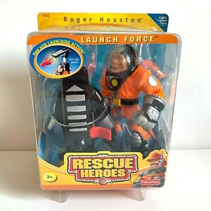 Fisher Price Rescue Heroes Launch Force Roger Houston #78192