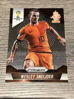 Panini Prizm 2014 World Cup Wesley Sneijder Holland Base Card #33