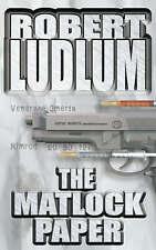 The Matlock Paper, Robert Ludlum, 0586040676, Good Book
