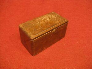Antique Sewing Attachment Folding Oak Puzzle Box W/ Attachments  1899 Feb 19