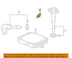 HONDA OEM-Ignition Knock (detonation) Sensor 30530PPLA01