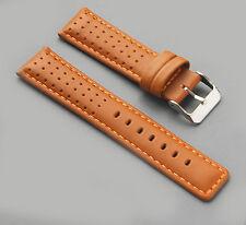 Diloy  Echt Leder Uhrenarmband 18mm 20mm  watch strap