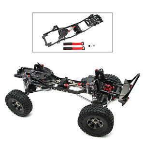 313mm Wheelbase Metal Chassis with Prefixal   for 1/10 Axial SCX10 SCX10