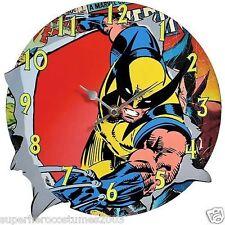 Wolverine X-Men Collectible Wall Clock Brand New Westland Giftware 22940