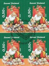 Finland 2005 Used (4) - Christmas - Designed by Mauri Kunnas - First Day Cancel