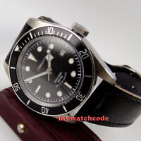 41mm CORGUET sterile dial date Sapphire Glass japan miyota Automatic mens Watch