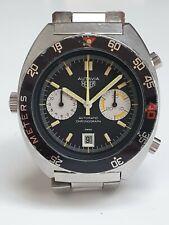 Vintage Heuer 11630P Autavia Divers  Chronograph Cal 12 Decompression Bezel