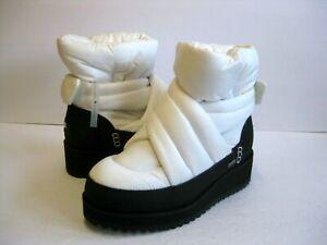 UGG MONTARA WATERPROOF WOMEN MINI BOOTS WHITE US 7 /UK 5 /EU 38 /JP 24