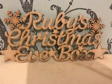 Personalised Christmas Eve Box Topper