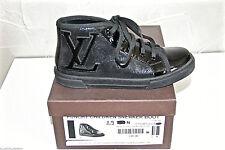 jolies punchy sneaker boot black LOUIS VUITTON pointure 29 COMME NEUVES EN BOITE