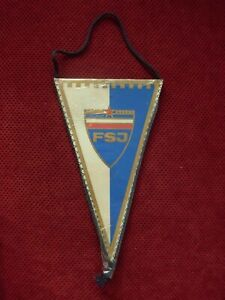 SFRJ YUGOSLAVIA - FOOTBALL ASSOCIATION OF YUGOSLAVIA PENNANT , FLAG