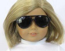 """Black Aviator Sunglasses for American Girl 15"""" to 18"""" Doll Lovvbugg! Us Seller!"""